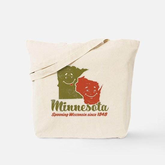 MN: Spooning WI Tote Bag