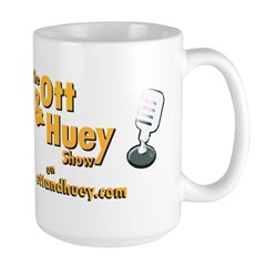 The Ott and Huey Show Logo Coffee Mug