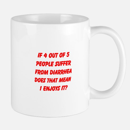 4 OUT OF 5 Mug