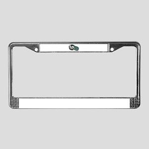 Pan handling License Plate Frame