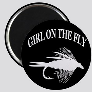 GIRL ON THE FLY Magnet