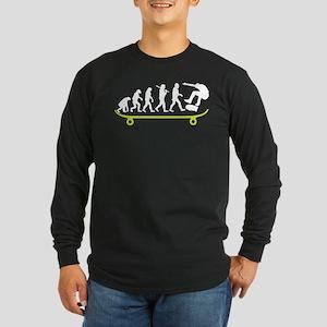 Evolution Skateboard T Shirt Long Sleeve T-Shirt