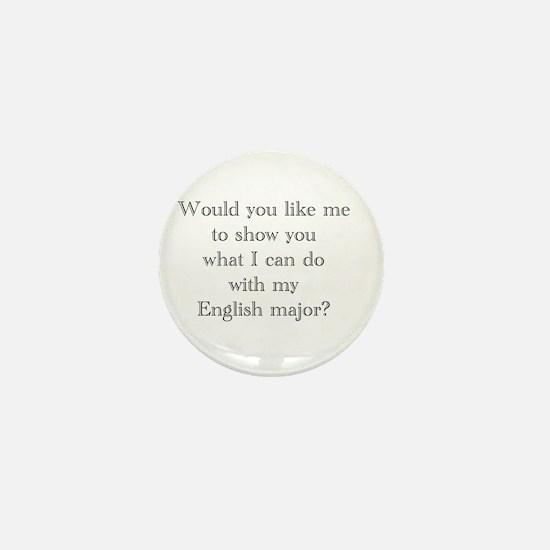 Do With An English Major Mini Button