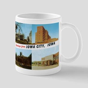 Greetings from Iowa City Mug