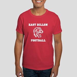 East Dillon Football T-Shirt (Red)