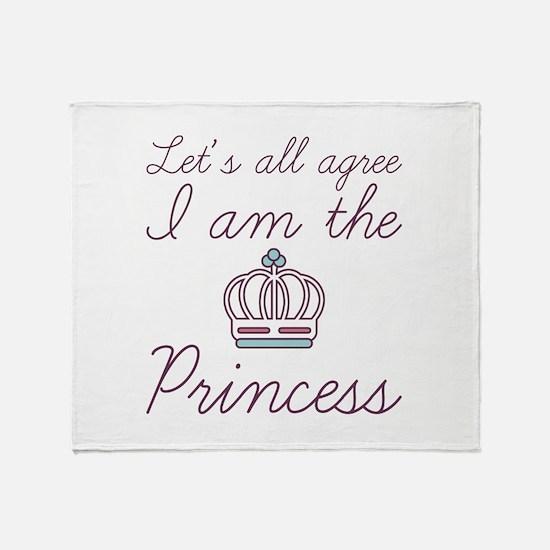 I Am The Princess Stadium Blanket