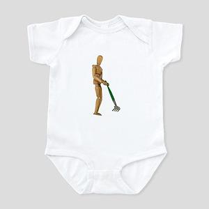 Raking Infant Bodysuit