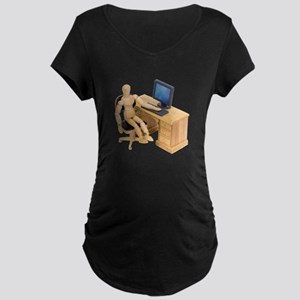 Ready to work Maternity Dark T-Shirt