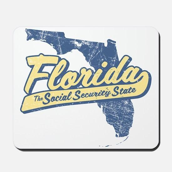 Florida Social Security State Mousepad