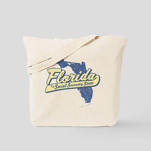 Florida Social Security State Tote Bag