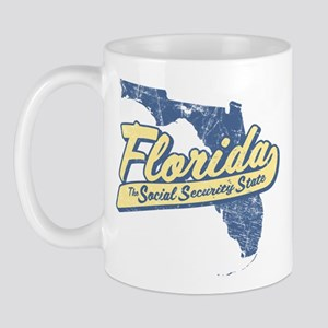 Florida Social Security State Mug