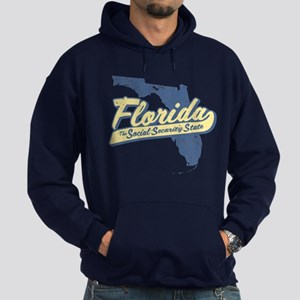 Florida Social Security State Hoodie (dark)