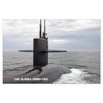 USS ALASKA Large Poster