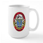 USS ALASKA Large Mug