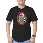 USS ALASKA Men's Fitted T-Shirt (dark)