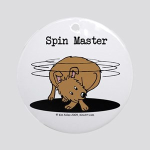 Spin Master Ornament (Round)