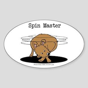 Spin Master Oval Sticker (10 pk)