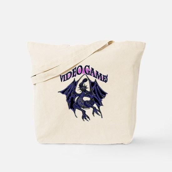 Video Games Fantasy Tote Bag