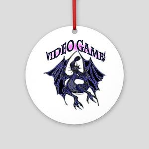 Video Games Fantasy Ornament (Round)