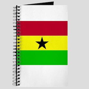 Ghana Flag Journal