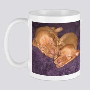 Cute Vizsla Puppies Mug