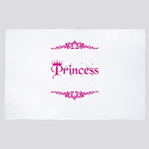Girl's Veterinarian Forget Princes 4' x 6' Rug