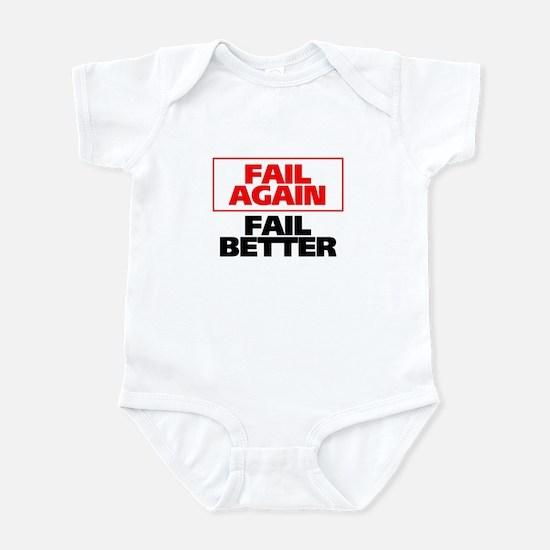 Fail Better Infant Bodysuit