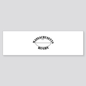 Massachusetts Rugby Bumper Sticker