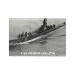 USS DIABLO Rectangle Magnet (10 pack)