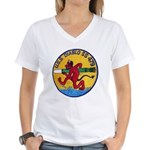 USS DIABLO Women's V-Neck T-Shirt