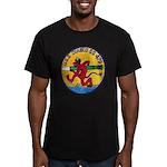 USS DIABLO Men's Fitted T-Shirt (dark)