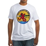 USS DIABLO Fitted T-Shirt