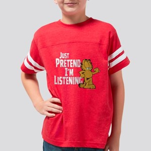 Pretend_DK_APP_white Youth Football Shirt
