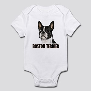 Boston Terrier - Full Color Infant Bodysuit