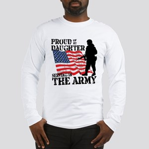 Proud of My Daughter Long Sleeve T-Shirt