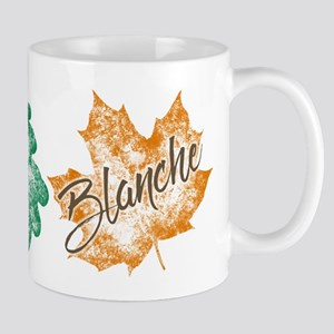 Blanche Golden Girls Leaf Mugs