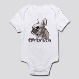 Frenchie - Creme Monochrome Infant Bodysuit