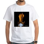 Fire and Ice White T-Shirt