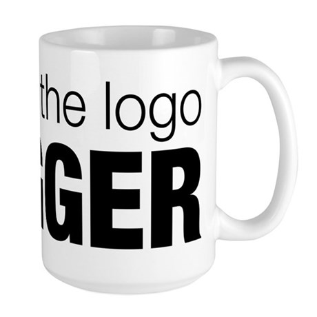 Make the logo bigger Large Mug