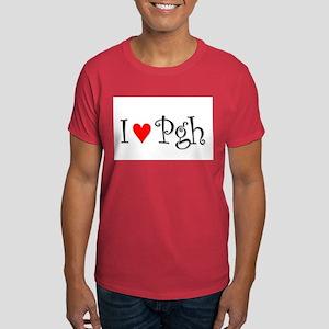 I Love Pittsburgh Dark T-Shirt