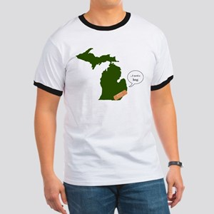 Poor Michigan Ringer T