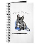Frog Dog (Brindle Boy) Journal