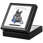 Frog Dog (Brindle Boy) Keepsake Box