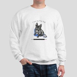 Frog Dog (Brindle Boy) Sweatshirt