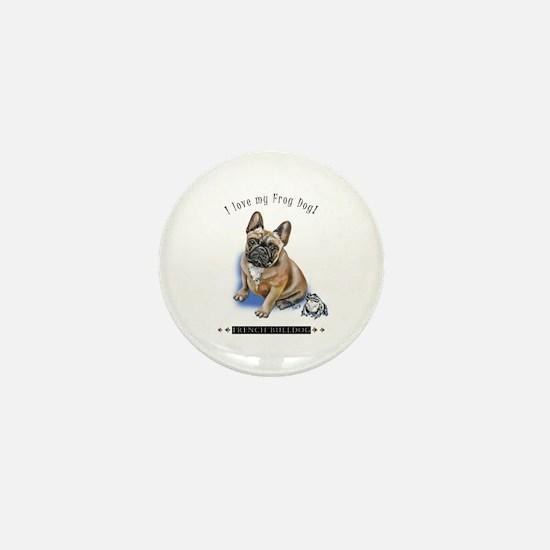 Frog Dog (BM Fawn Boy) Mini Button