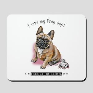 Frog Dog (BM Fawn Girl) Mousepad