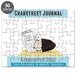 Crab Street Journal logo Puzzle