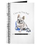 Frog Dog (Cream Boy) Journal