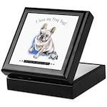 Frog Dog (Cream Boy) Keepsake Box