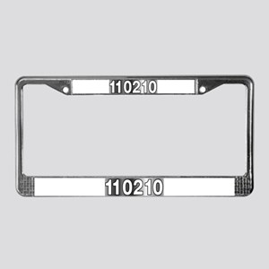 Vote 11 02 10 License Plate Frame